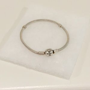 Sterling Silver Pandora Bracelet.
